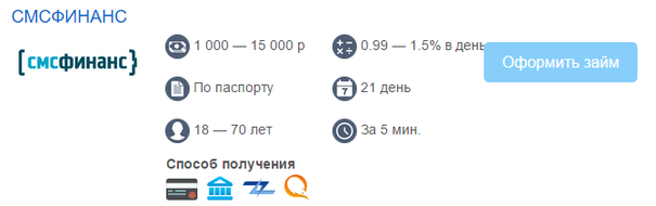 smsfinance