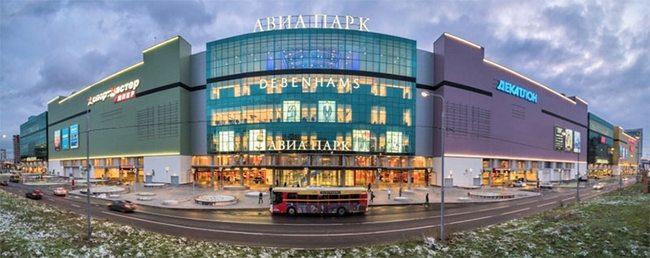 ТЦ Авиапарк в Москве